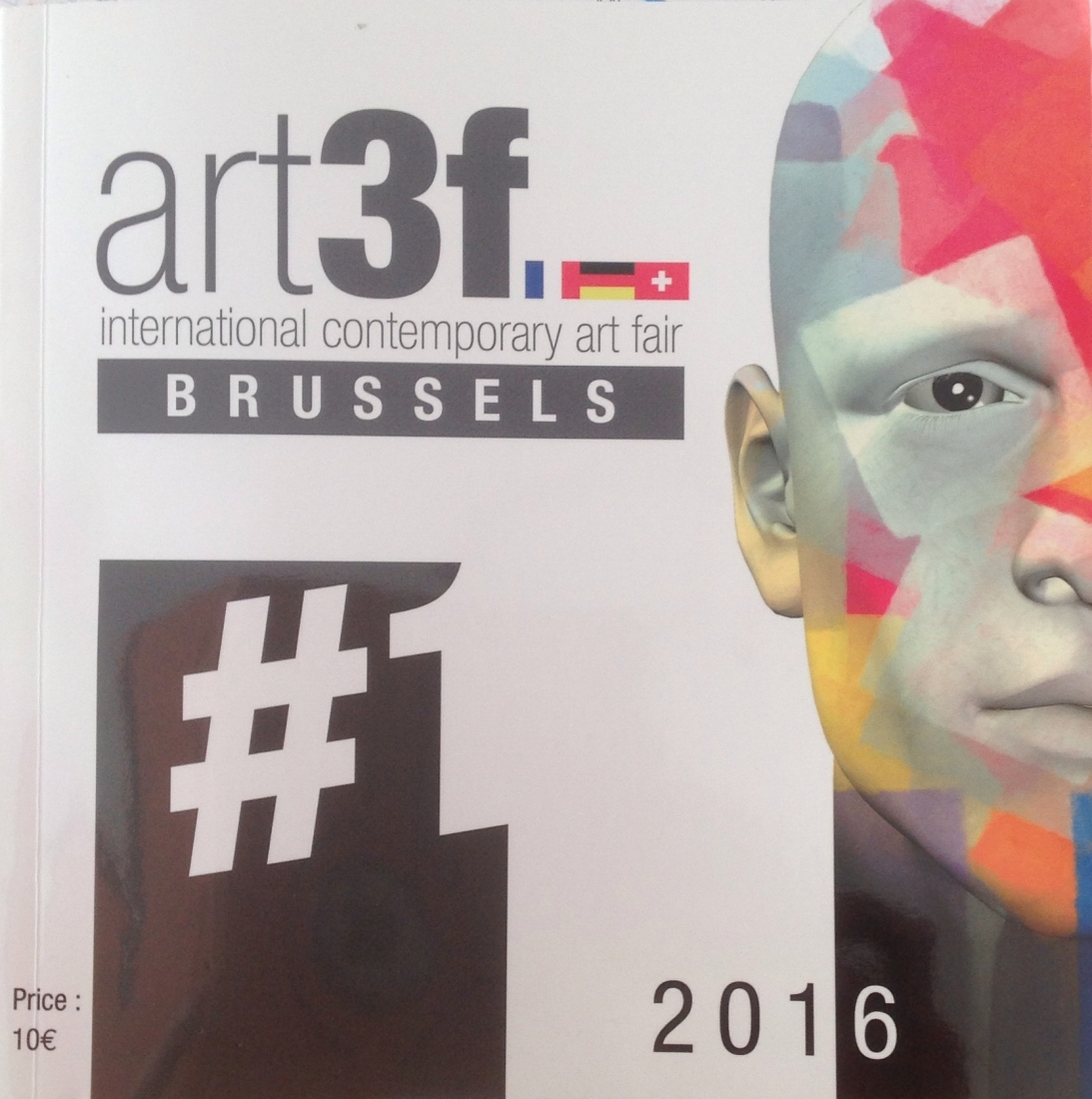 Salon Art3f Bruxelles - Septembre 2016